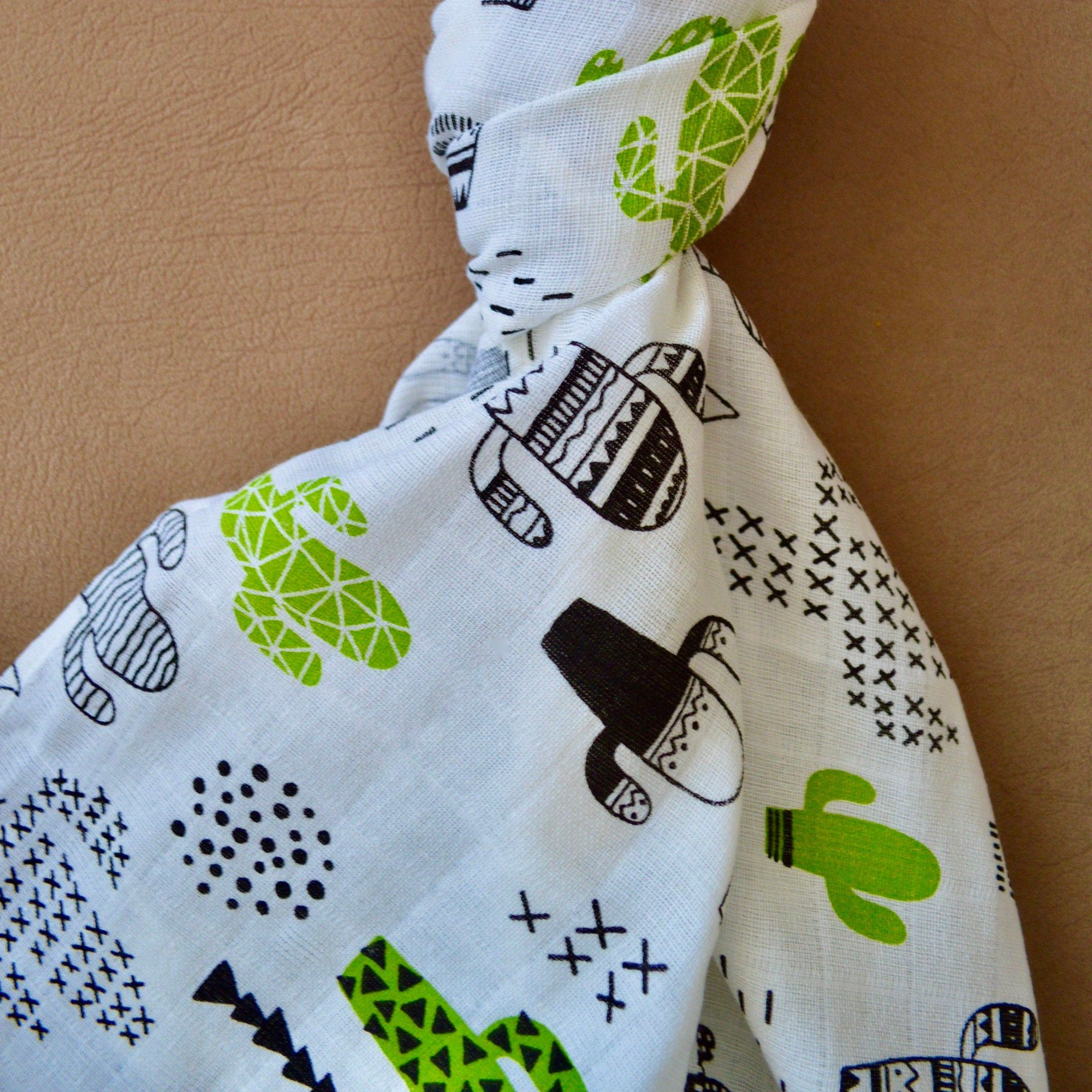 Muslin Swaddle Blanket Cactus 100 Cotton 39 Square Baby Blanket Baby Gift For Boy Girl Gender Neutral Baby Boy Gift Baby Girl Gift In 2020 Muslin Swaddle Blanket Baby Boy Gifts Muslin Swaddling