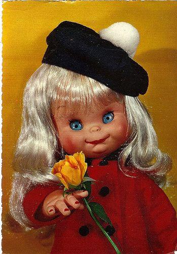Открытки детские куклы, поздравлением лет женщине