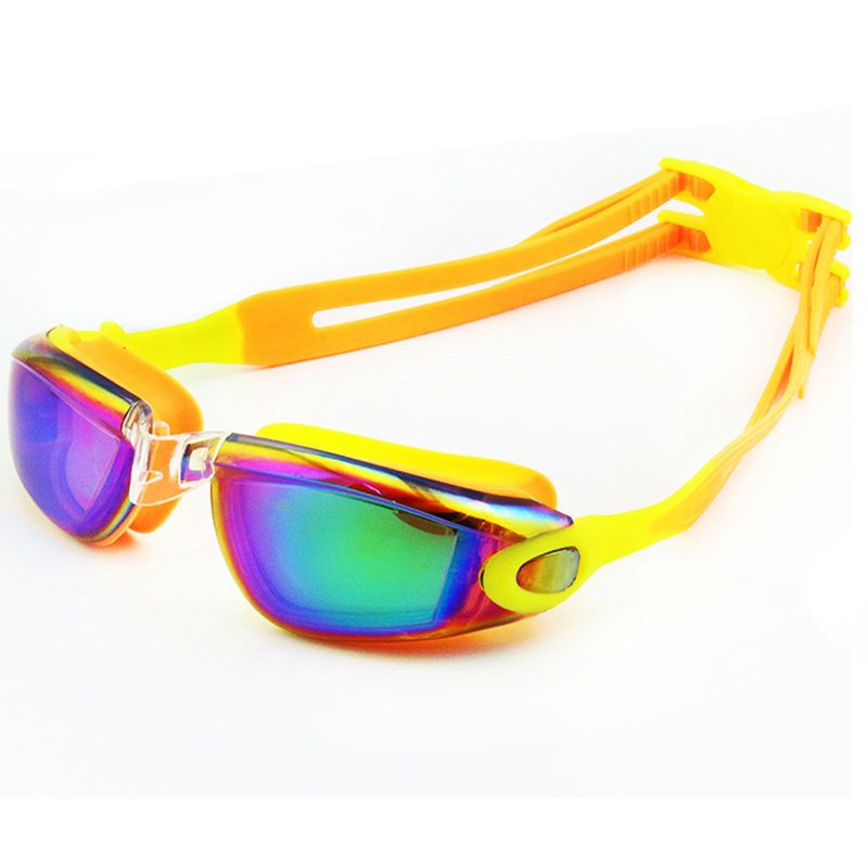 0b62f539d8cb Find More Swimming Eyewear Information about New Children Swimming Goggles  Kids Colorful PC Lens Professional Coating Waterproof Electroplate Swim  Glasses ...