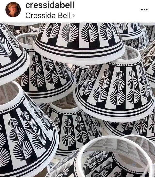 Cressida Bell Lampshades Lampshades Cressidabell Cressida Bell Painting Lamp Shades Diy Lamp Shade