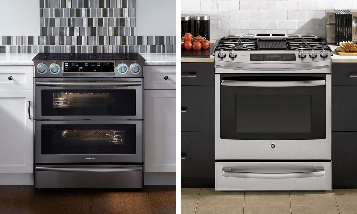 how to install a gas stove in kitchen