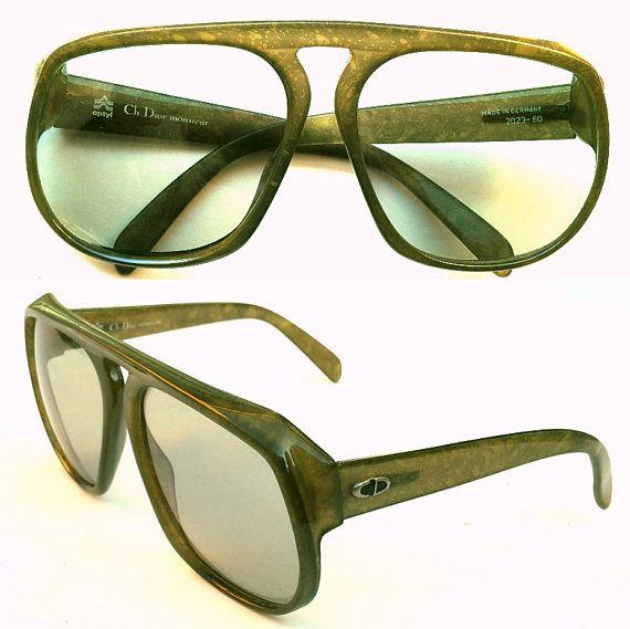 735564ed15f8 VINTAGE Christian Dior Monsieur 2023 MASSIVE Sunglasses Made In Germany  1970s Optyl Frames
