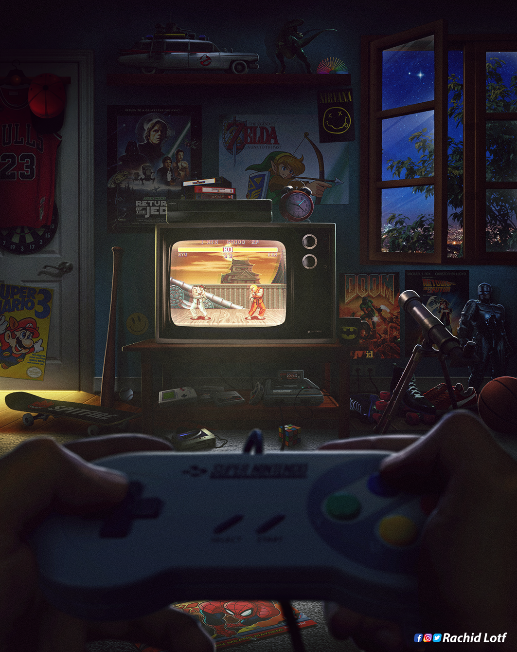 Super Nintendo Retro Games Wallpaper Retro Gaming Art Video Games Artwork