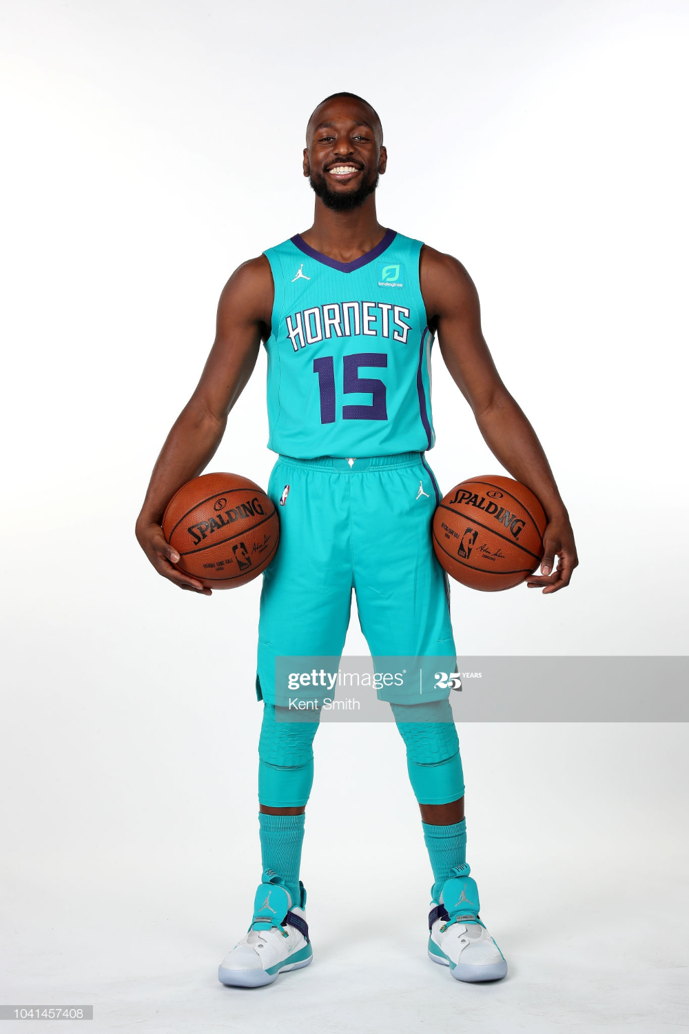 Kemba Walker Of The Charlotte Hornets Poses For A Portrait During The Charlotte Hornets Charlotte Poses