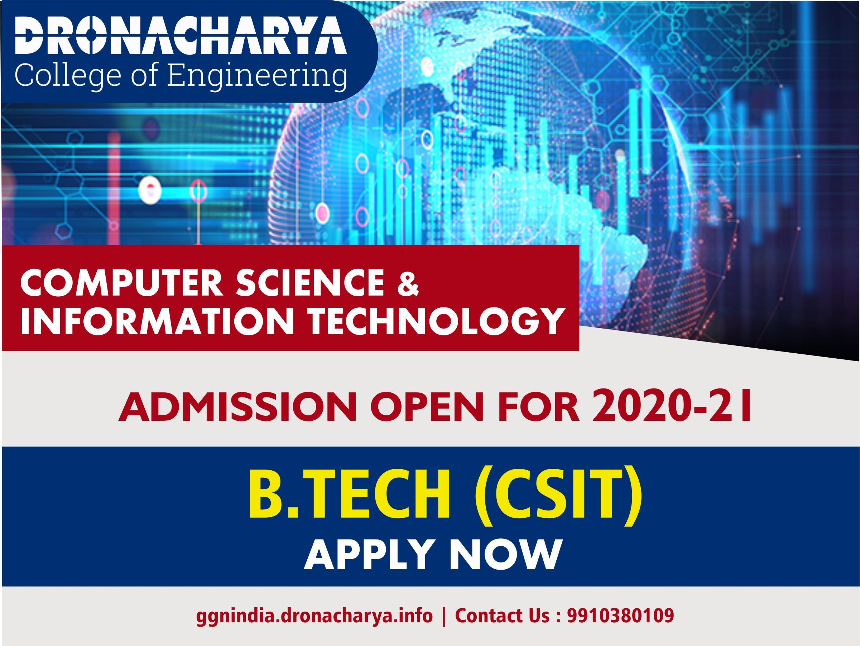 B Tech Admission 2020 Dronacharya In 2020 Top Engineering Colleges Engineering Colleges Engineering