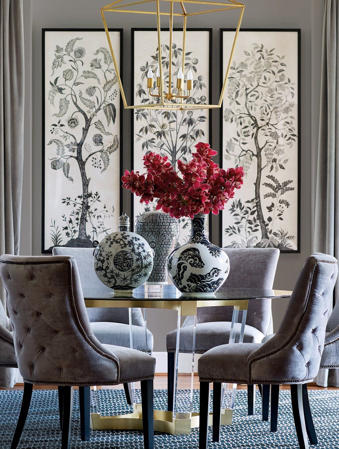 Barclay Tufted Dining Chair Frontgate Tufted Dining Chairs