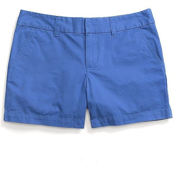 "Tommy Hilfiger Solid 5"" Short ($33) ❤ liked on Polyvore featuring shorts, cotton shorts, tommy hilfiger shorts, tommy hilfiger and short shorts"