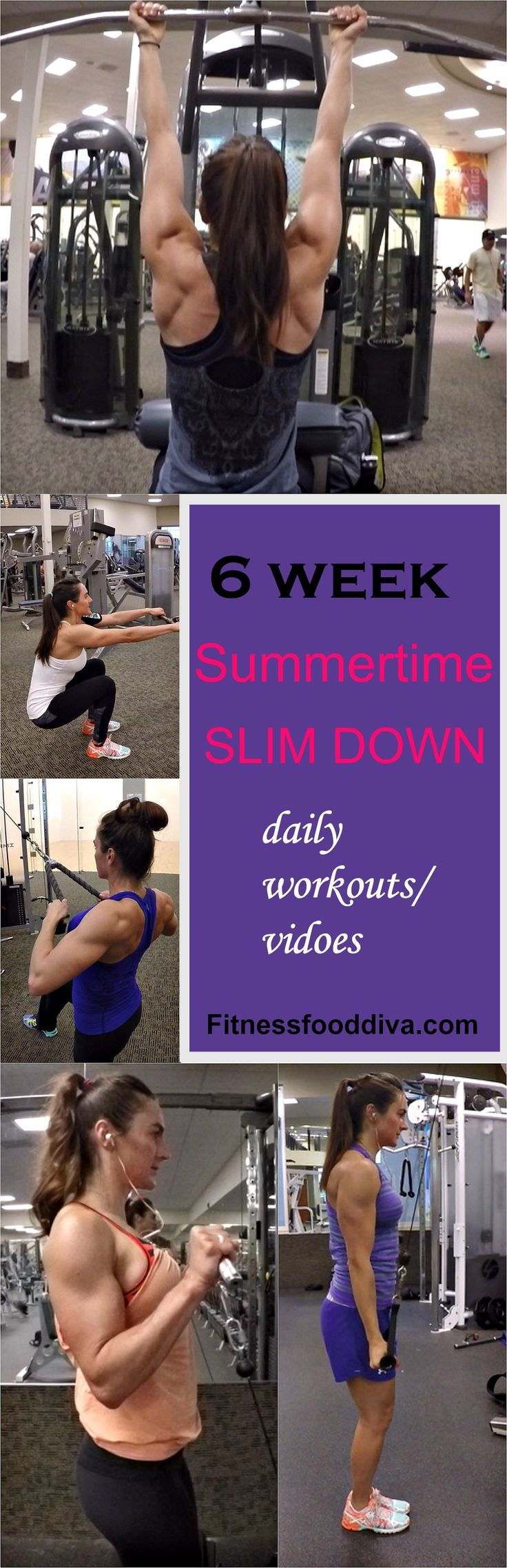 6 WEEKS SUMMERTIME SLIM DOWN PROGRAM Fitness food diva