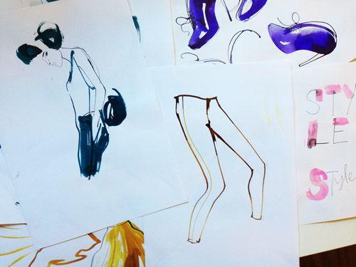 drawings from last week