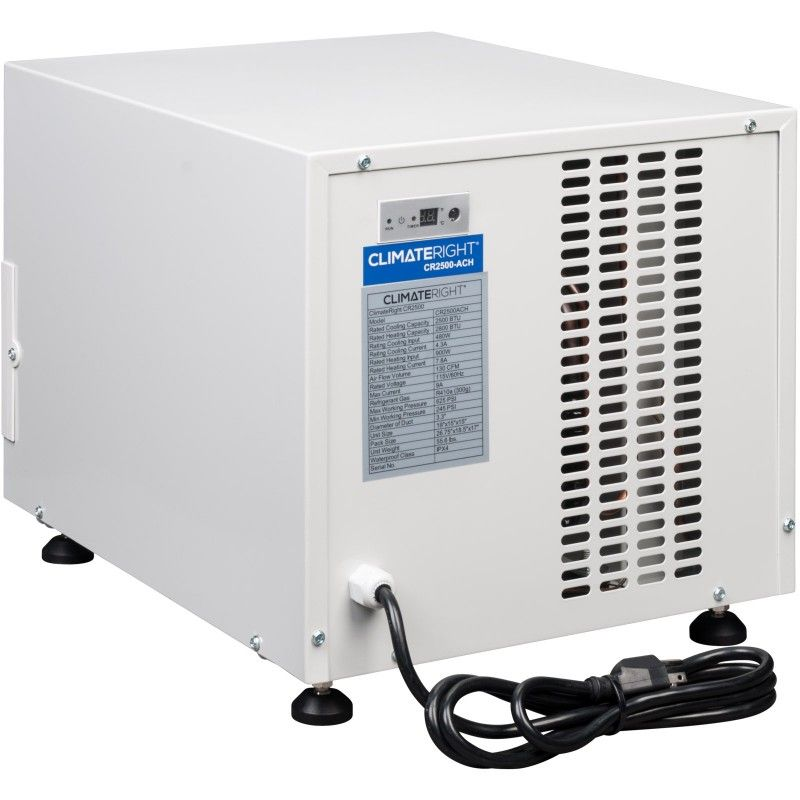 Climateright Cr2500ach 2 500 Btu Mini Portable Heater And Air Conditioner Out Of Stock Indefinitely In 2020 Outdoor Air Conditioner Air Conditioner With Heater Air Conditioner Heater