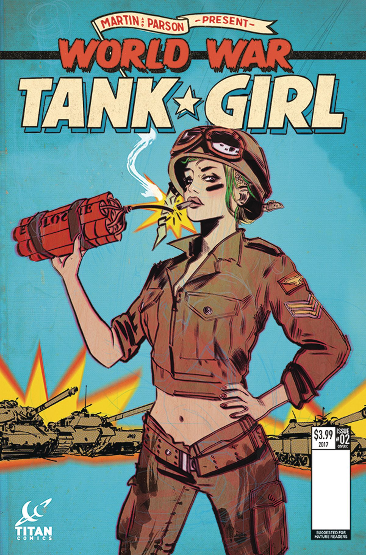 TANK GIRL WORLD WAR TANK GIRL #2 (OF 4) CVR C LOTAY | Other Comic