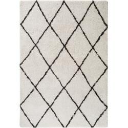 Photo of benuta Trends Hochflorteppich Gobi Cream 80×150 cm – Berber Teppich benuta