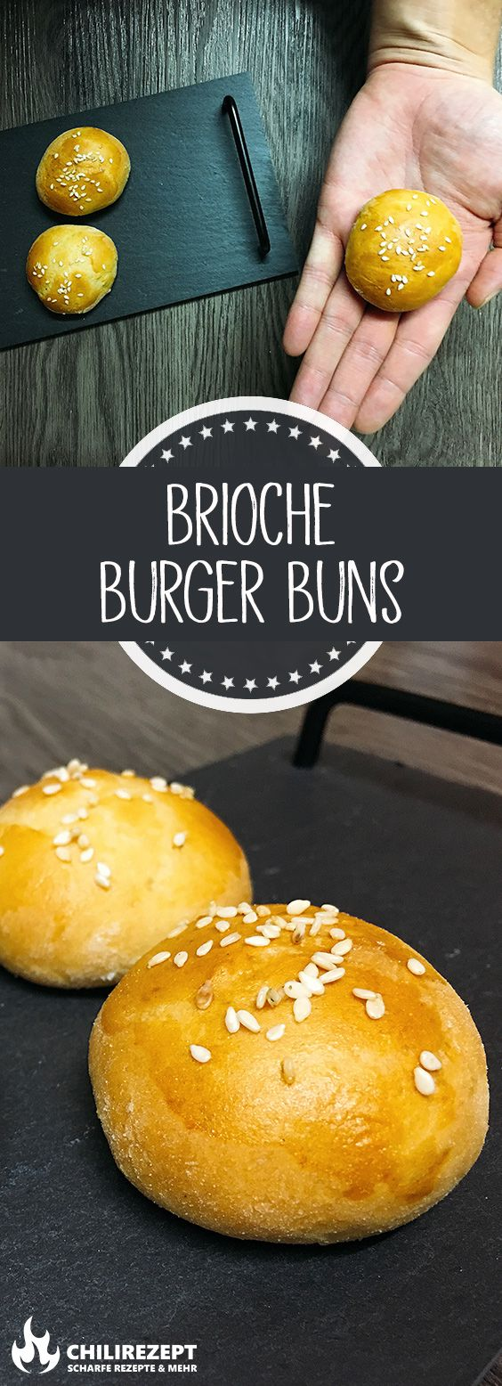Photo of Brioche Burger Buns 🍔 | Burger bun oppskrift Chilirezept.de
