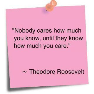 Show how much you care!