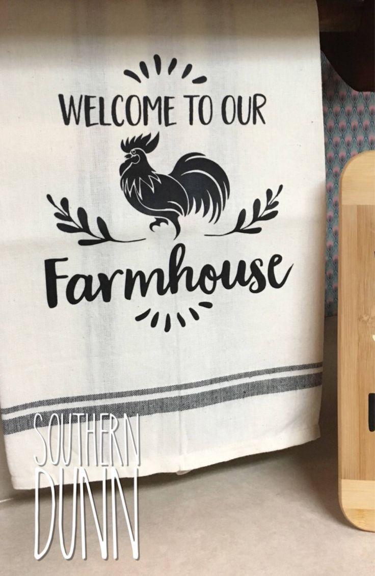 modern farmhouse hand towels