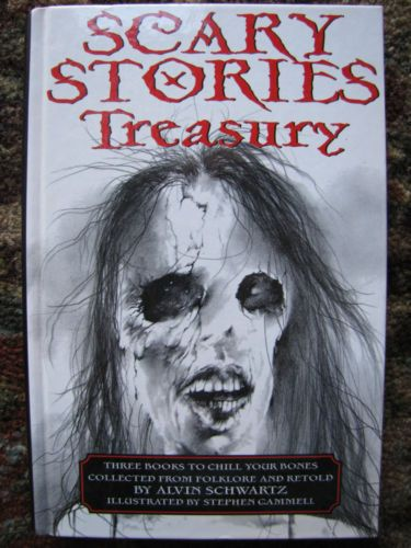 Alvin Schwartz Scary Stories To Tell In The Dark More 3 Treasury