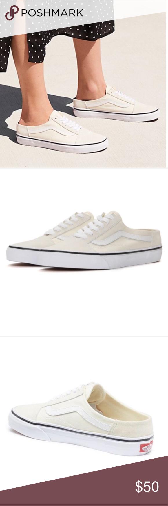 NWT Vans Old Skool Mules SlipOn Sneaker W 8, M 6.5 NWT Vans