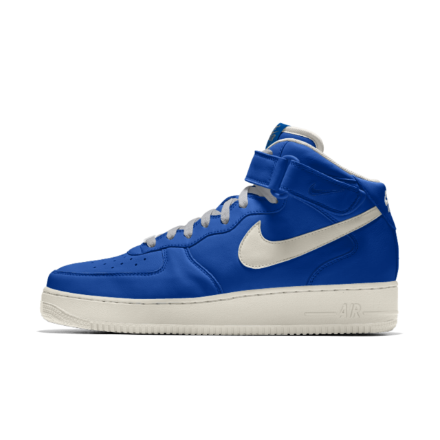 best sneakers d4152 cbd91 Nike Air Force 1 Mid iD Men s Shoe