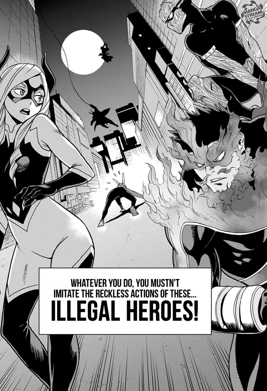 My hero academia vigilante izuku fanfiction