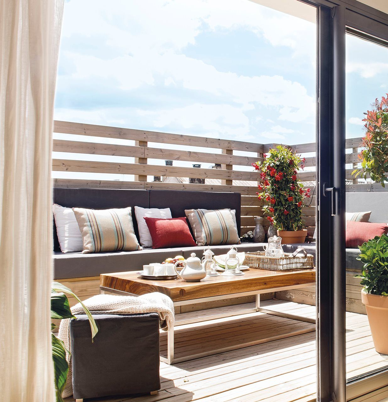 Crea tu terraza ideal en la ciudad for Mi casa deco