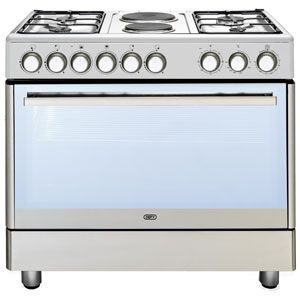 Defy | 4 Burner Gas 2 Electric Stainless Steel Multifunction Stove - DGS158