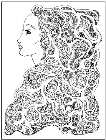 Maze Coloring Pages - Long Beard