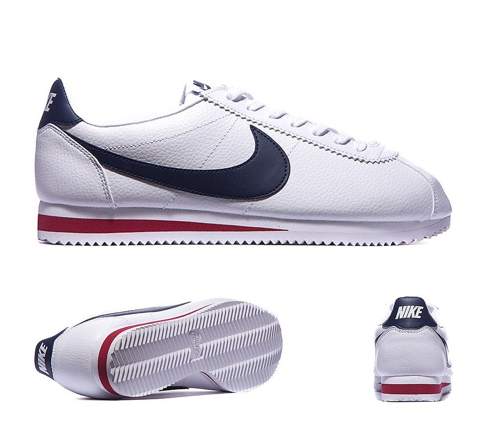 Cortez Leather Trainer