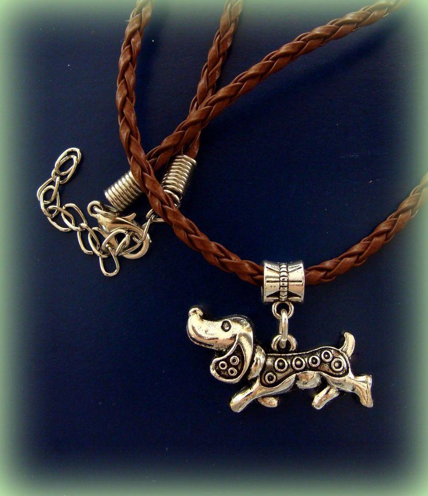 Doxie DACHSHUND DOG Necklace Jewelry  Art Deco Style - Sausage Weiner Puppy Pup