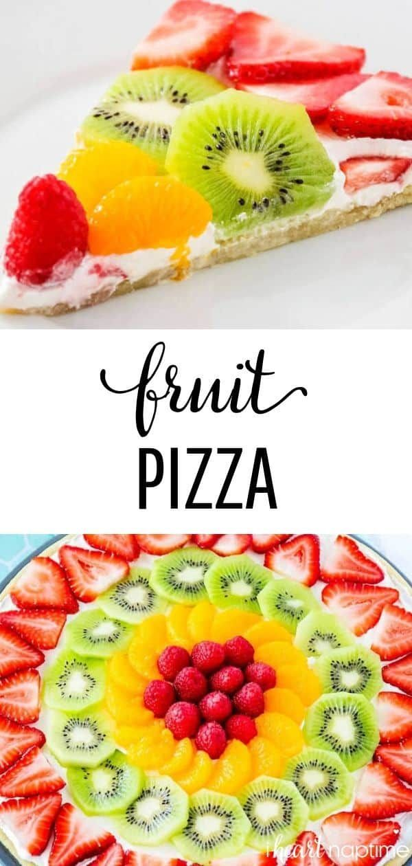 Photo of EASY Fruit Pizza Recipe (made in 20 minutes!) – I Heart Naptime