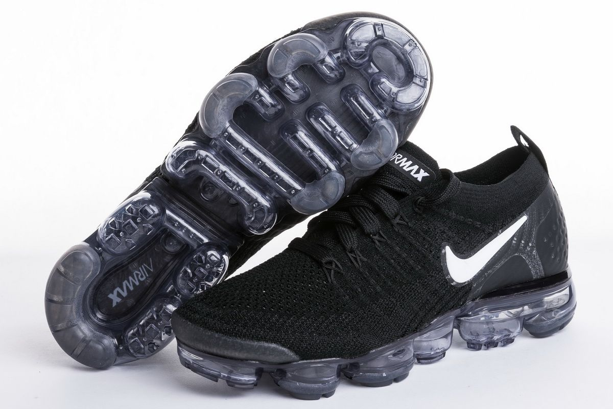 9a9dab8df0d Nike Air VaporMax Flyknit 2.0 All Black 942843-001 Nike Sneakers