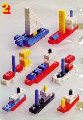 Lego Ideas Instructions For Lego 222 Building Ideas Book Legos