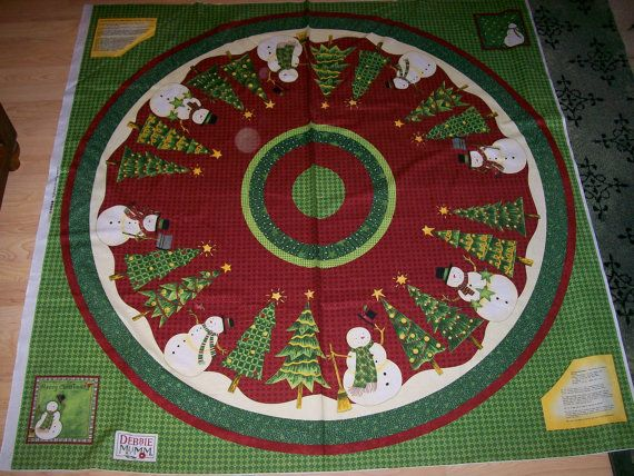 Christmas Tree Skirt Panels