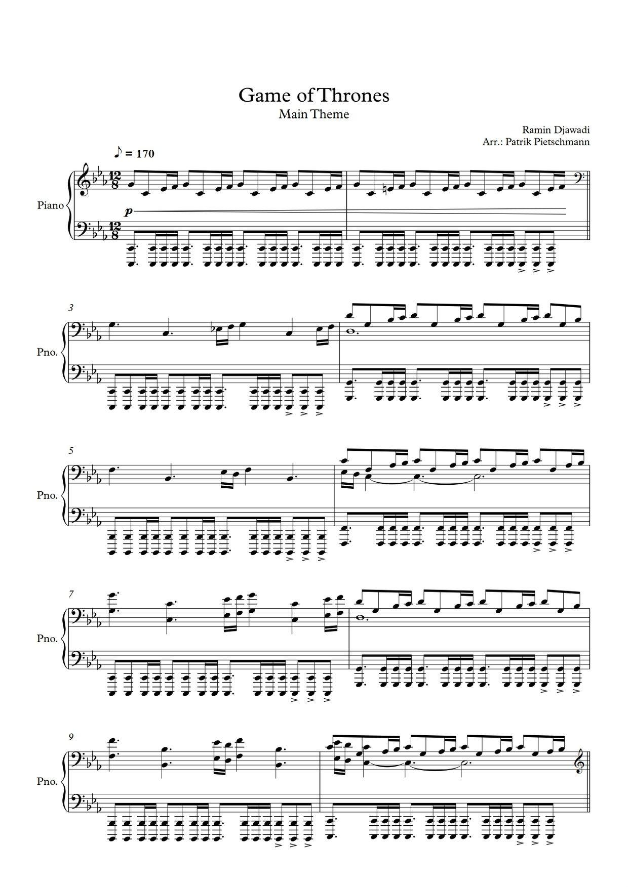 Pin by Tamu on piano notes in 2019 | Piano sheet music
