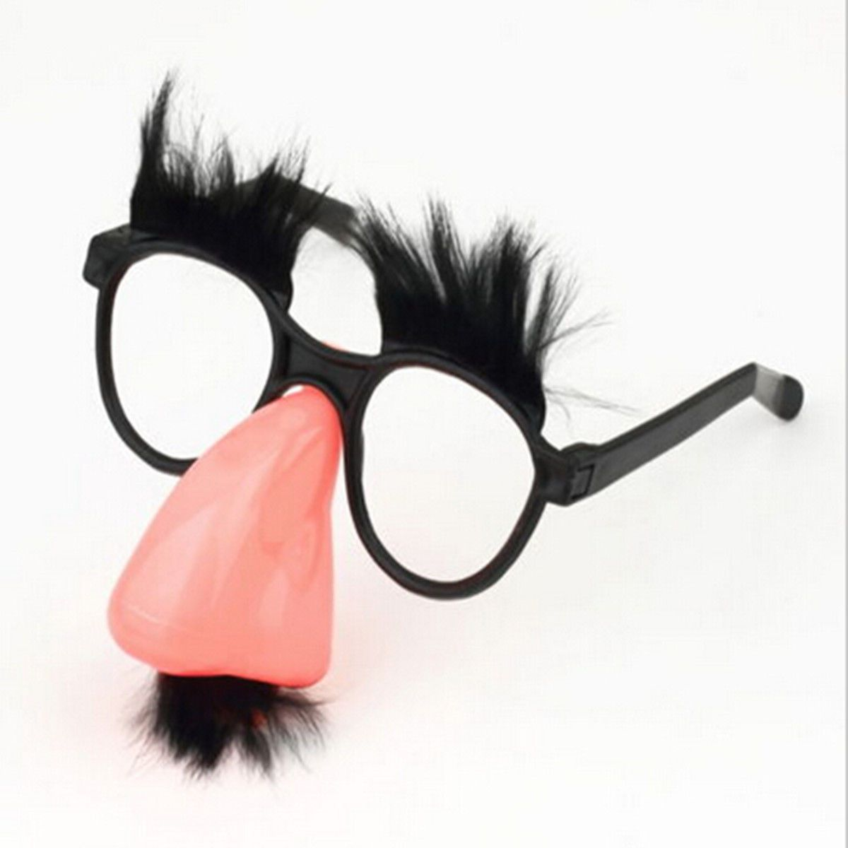 0 99 Fuzzy Puss Groucho Marx Beagle Glasses Nose Mustache Hair