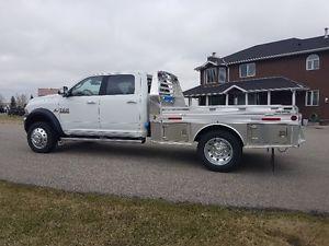 2017 Dodge Ram 5500 Laramie Crew Cab Aluminum Deck