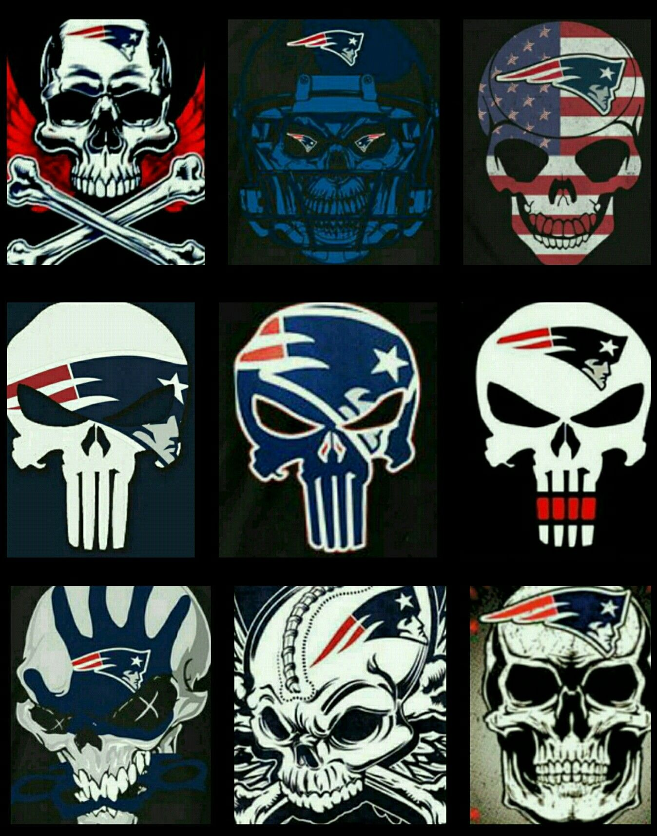 Patriots Skulls New England Patriots Football New England Patriots Patriots Football
