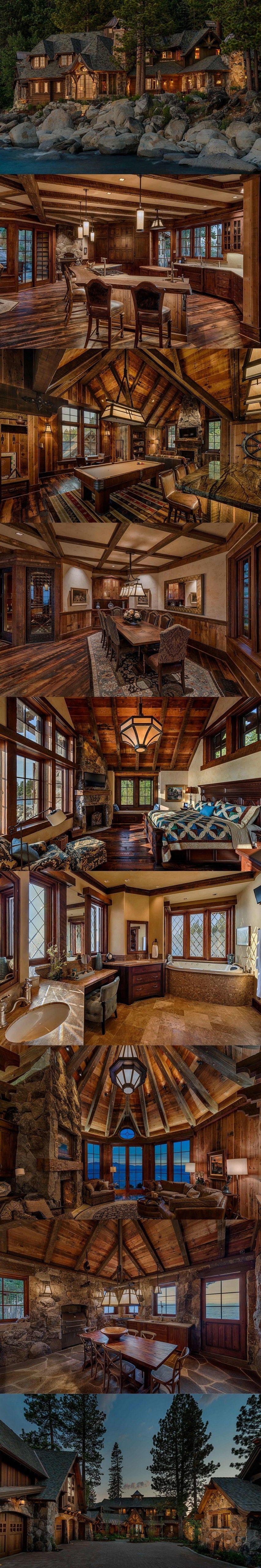 East Shore Residence, Lake Tahoe, NV | Mansions | Pinterest ...