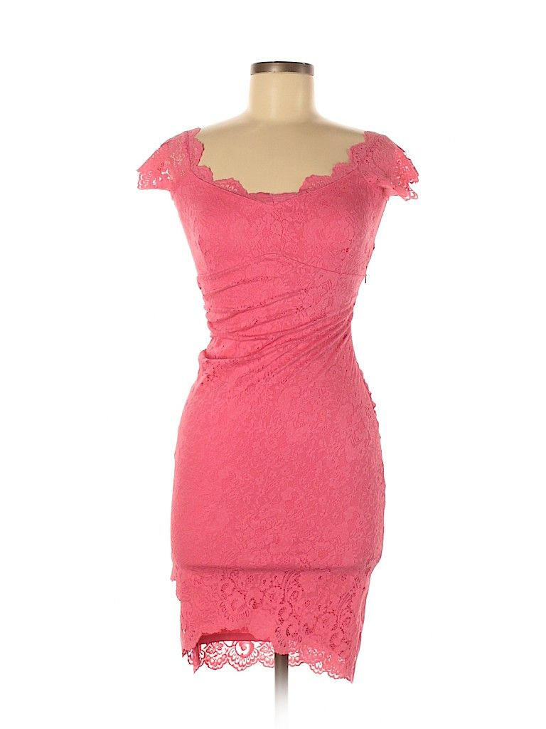 Jane Norman Casual Dress Bodycon Pink Solid Dresses Used Size 8 In 2020 Casual Dresses Dresses Casual Dress