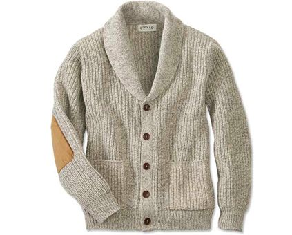 Orvis Wool-Blend Shawl Cardigan Sweaters | Gentleman Style ...