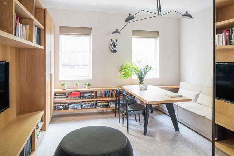 Apartamento de 50 metros quadrados aconchegante Small spaces