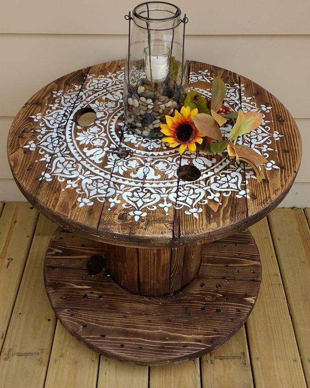 Mandala Designs | Furniture remodeling | DIY furniture ...