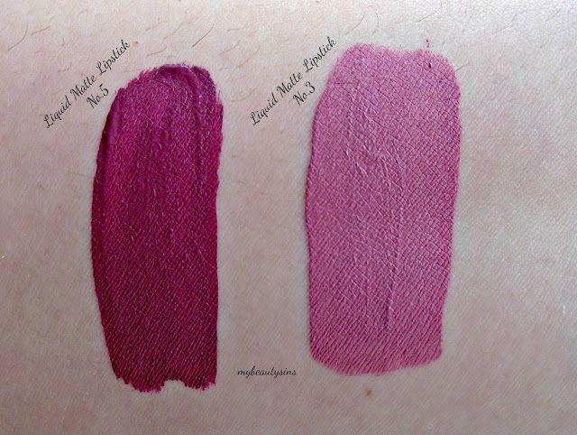 Golden Rose Longstay Liquid Matte Lipstick 05 Left One Fashion