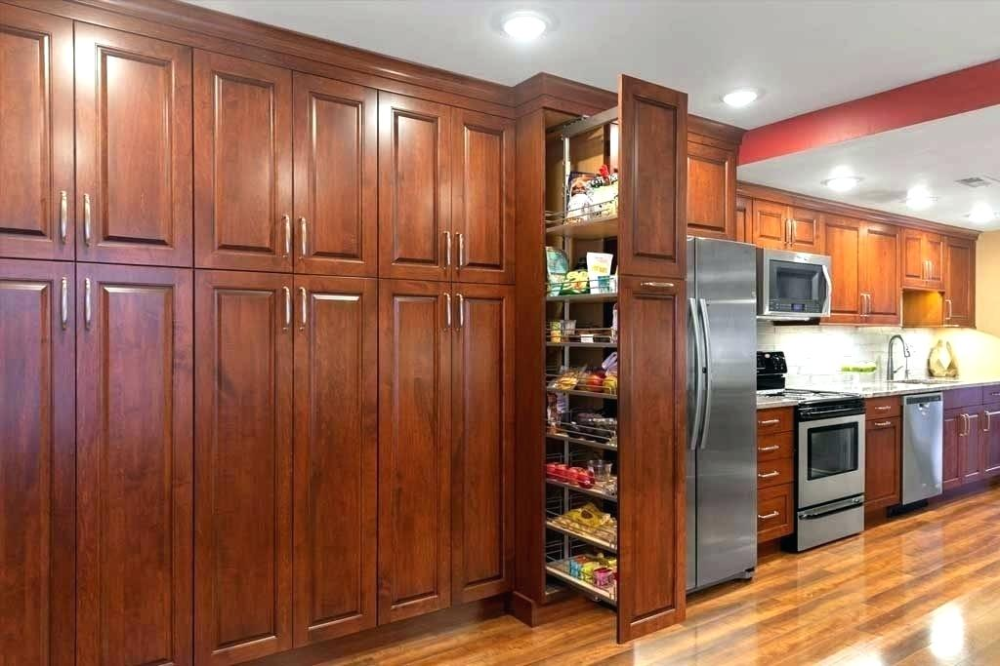 Stained Beech Wood Cabinets Kitchen Kitchen Remodel Wood Kitchen Cabinets Wood Cabinets