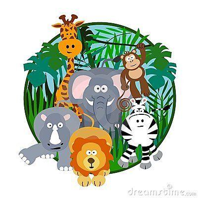 Cute Safari Cartoon Jungle Cartoon Cartoon Animals Safari Kids Party