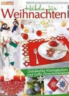 Diana Special Häkeln Für Weihnachten D 2441 Zeitschriften