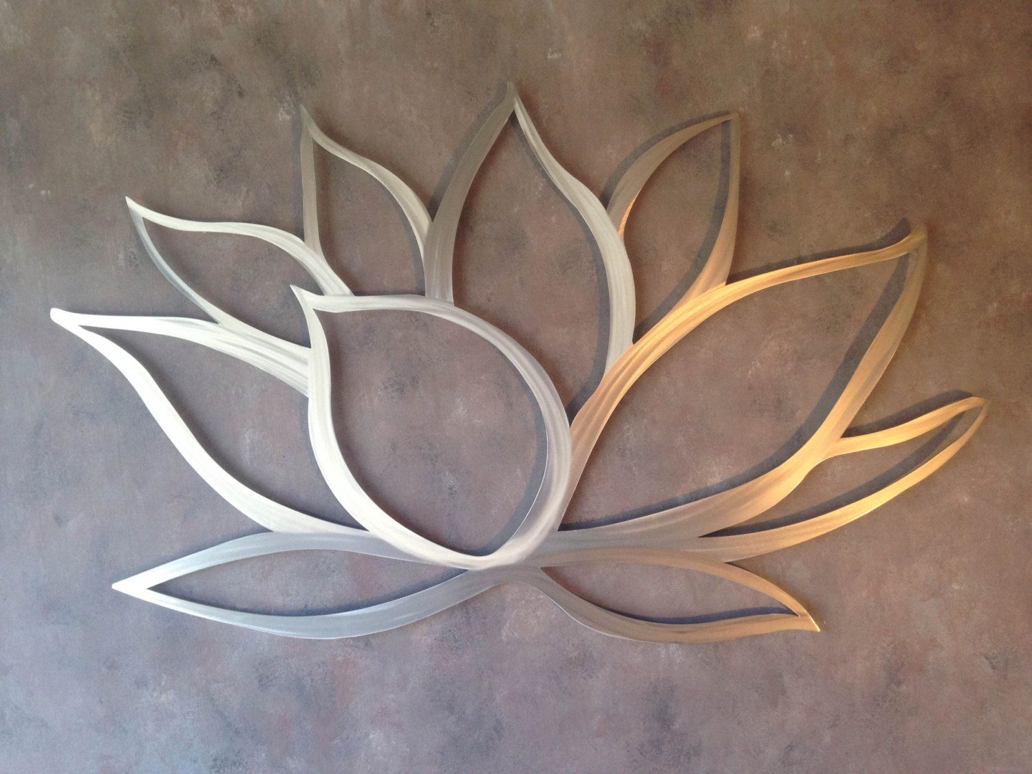 Lotus flower metal wall art lotus metal art por inspiremetals lotus flower metal wall art lotus metal art por inspiremetals amipublicfo Gallery
