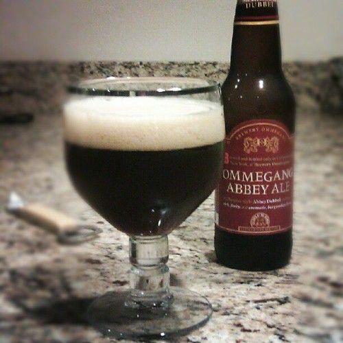 Enjoying Ommegang Belgian Abbey Ale tonight (Taken with Instagram)
