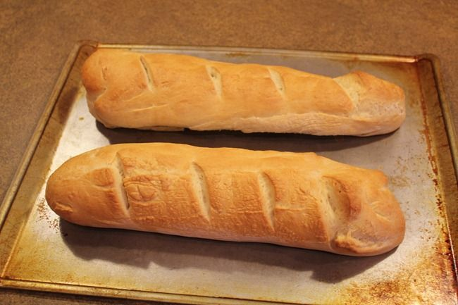 Easy French Bread- make the dough in your bread machine