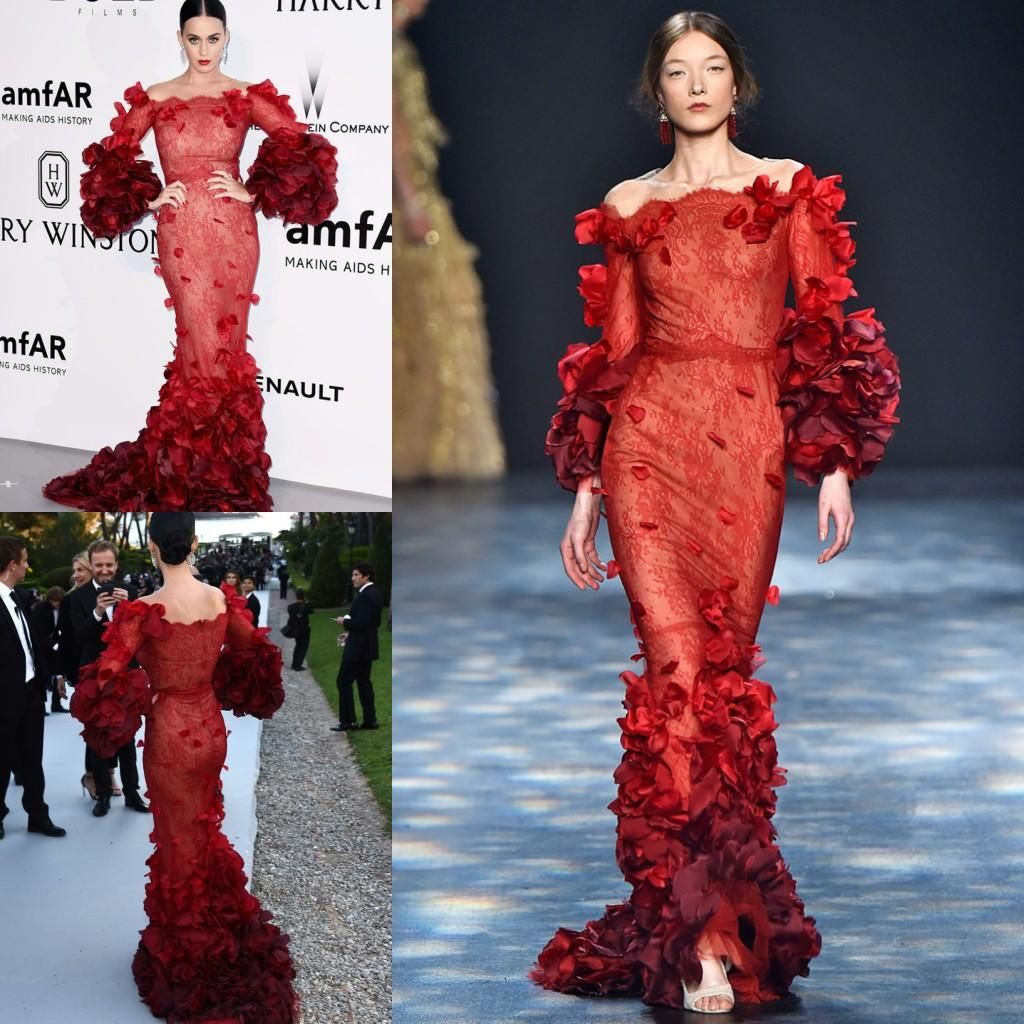 Cannes film festival celebrity evening dresses katy perry off