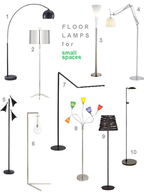 10 Floor Lamps For Small Spaces Blogged By Stylecarrot Floor